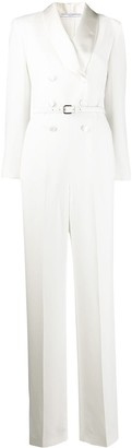 Ermanno Scervino Double-Breasted Stretch Jumpsuit