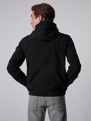 HUGO BOSS Odear Nylon Hooded Jacket - Black