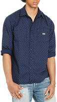 Denim & Supply Ralph Lauren Raw Edge Shirt, Mini Circle Print