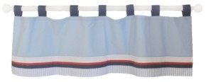 My Baby Sam First Mate Curtain Valance Bedding