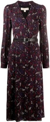 MICHAEL Michael Kors Azalea paisley-print dress