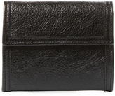 Balenciaga Men's Leather Bi-Fold Zip Wallet