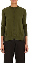 Marni Women's Pleated-Back Cotton-Blend Cardigan