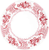 Q Squared Melamine Cambridge Rose Serving Platter