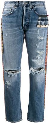 Giacobino Bead Detail Jeans