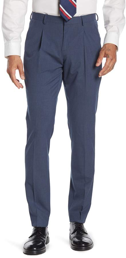 14th & Union Navy Single Pleat Suit Separates Pants
