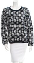 Suno Patterned Knit Sweater