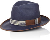 Barbisio BARBISIO MEN'S BRAIDED PANAMA HAT