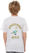Zoo York Kids Boys Gutter Tee White