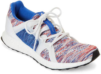 adidas by Stella McCartney Hi-Res Blue & White Ultraboost Parley Knit Running Sneakers