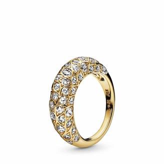 Pandora Women Gold Plated Statement Ring - 168746C01-56