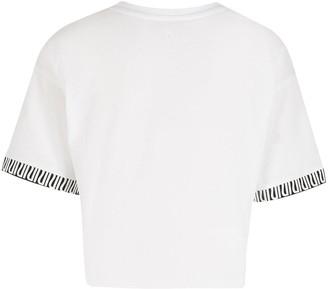 River Island Girls RI Active Cropped T-shirt -White