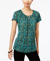 NY Collection Printed Hardware-Detail Top