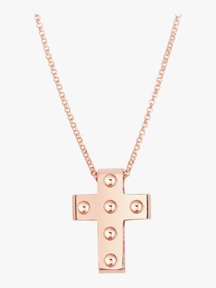 Roberto Coin Pois Moi Cross Pendant Necklace