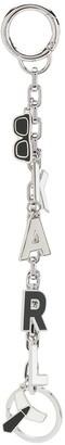 Karl Lagerfeld Paris charms hanging keychain