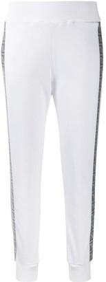 Fendi FF motif panelled track pants