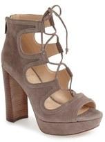 Vince Camuto Women's 'Kamaye' Ghillie Platform Sandal