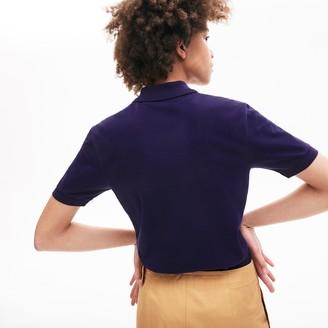 Lacoste Unisex LIVE Slim Fit Stretch Cotton Pique Polo Shirt