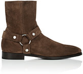 Doucal's Men's Harness-Strap Suede Boots