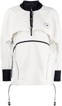 adidas by Stella McCartney Logo-Print Lightweight Jacket