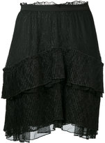 Just Cavalli - asymmetric tier skirt