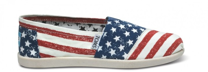 Toms Stars and stripes youth vegan classics