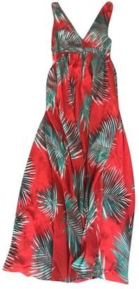 Paul & Joe Red Silk Dress for Women