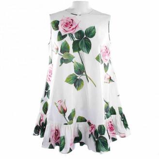 Dolce & Gabbana Multicolour Cotton Dresses