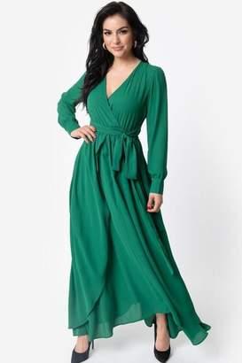 Unique Vintage Farrah Maxi Dress