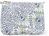 Aerin Beauty Mediterranean Honeysuckle Large Printed Cotton-canvas Cosmetics Case