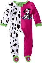 Sozo Dalmatian Footie (Baby Girls)