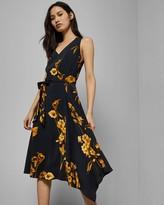 Ted Baker Fantasia Asymmetric Dress