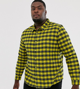 Another Influence regular fit flannel check shirt