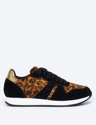 M&S CollectionMarks and Spencer Leopard Print Trainers