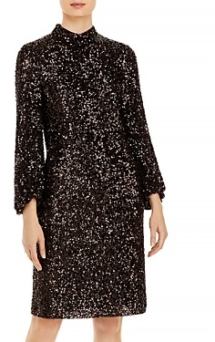 Lafayette 148 New York Axton Sequined Dress