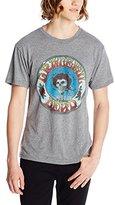 Impact Men's Grateful Dead Distressed Skull and Roses Tri-Blend T-Shirt