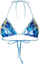 La Perla Floral Rhapsody triangle bikini bra