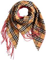 Burberry brand check scarf
