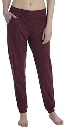 Calida Women's Favourites Trend 5 Pyjama Bottoms, Black Cherry 227, M