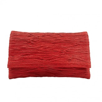Jay Ahr Red Leather Clutch bags