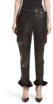 Women's Monse Leather Cargo Pants