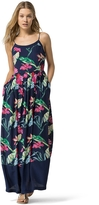 Tommy Hilfiger Final Sale- Hibiscus Maxi Dress