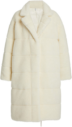 Moncler Bagaud Reversible Eco-Fur Down Coat