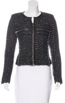 Isabel Marant Leather-Trimmed Virgin Wool Jacket