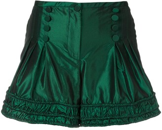 Giorgio Armani Pre-Owned ruched short shorts