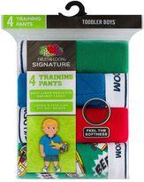 Fruit of the Loom Toddler Boy 4-pk. Signature Ultra Soft Training Pants