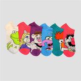 Asstd National Brand 6 Pair The Muppets No Show Socks - Womens