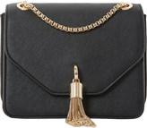 Dune Elina tasselled boxy handbag