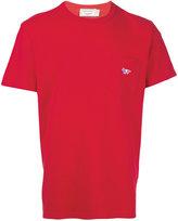 MAISON KITSUNÉ chest pocket T-shirt - men - Cotton - S