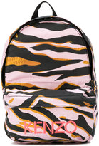 Kenzo Tiger Stripes backpack - kids - Cotton - One Size
